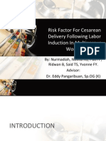 Risk Factor For Cesarean Delivery Following Labor Induction.pptx