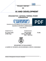 51983935 NTPC Project Report