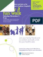 Community Health Fair Fun Walk