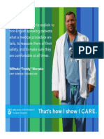 I CARE Posters