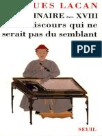 Lacan Seminaire 18 semblant.pdf