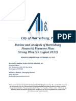 Alvarez and Marsal City of Harrisburg Report Debt Restructuring Report 09152013.pdf