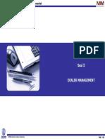 Modul - Dealer Management - 300309