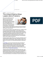 The 4 Most Effective Ways Leaders Solve Problems - Forbes.pdf