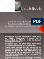 Ulrich Beck Global i Zac i on Fa Laci As