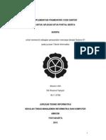 Implementasi Framework CodeIgniter Untuk SItus Portal Berita