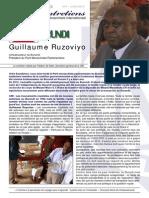 Les Entretiens de la CMI - #1 Juin 2013 - Guillaume Ruzoviyo (Burundi)