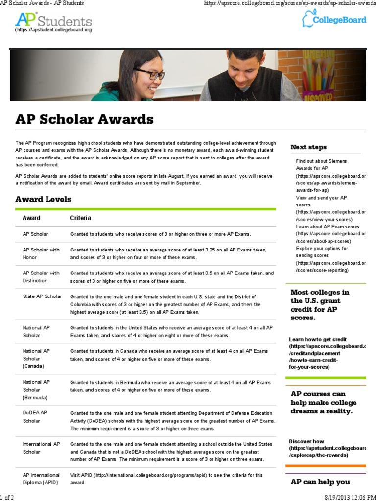 Workbooks ap human geography workbook : AP Scholar Awards - AP Students.pdf | Advanced Placement ...