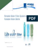 PORTABLE LIFE WATER by Hyundai