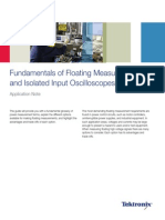 Fundamentals of Floating Measurements and Isolated Input Oscilloscopes - Tektronix - 3AW_19134_2_MR_Letter