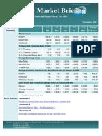 Weekly Market Briefing (November 11, 2013)