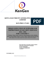 KGN PROC 37 2013 Tender for Provision of Security Services 2012 2014 for Category A