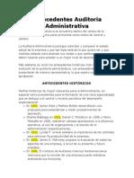 Antecedentes Auditoria Administrativa.doc