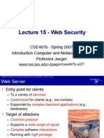 Network Security lecture.