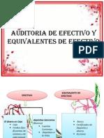 Auditoria de Efectivo y Equivalentes de Efectivo