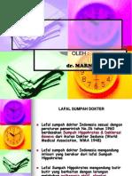 Lecture Dr. Marni