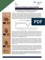 Indicador Ifo-FGV de Clima Econômico da América Latina (ICE)