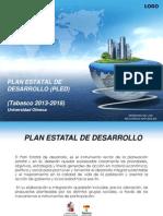 Plan Estatal de Desarrollo (Pled)