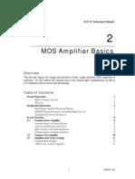 MOS Amplifier basics Lab 2 - 2C 2007.pdf