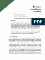 El Objeto en La Clausula Mapuche