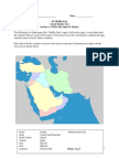 middle east test