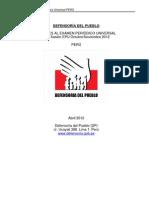 DP UPR PER S14 2012 DefensoriaDelPueblo S
