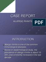 CASE REPORT rhinitis alergy.ppt