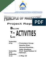Report on BTL Activities