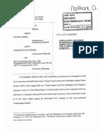 AFP v. Morel - Dismissal re Wash Post.pdf