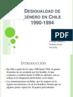 Desigualdad de género en Chile presentación