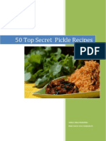 50 Top Secret Pickle Recipes