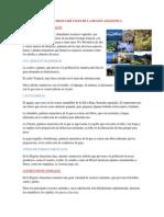 Los Recursos Narutales de La Region Amazonica