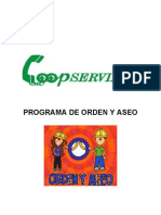 Gh-De-02 Programa de Orden y Aseo v.2