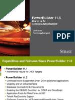 PowerBuilder 11.5 GA Overview v02