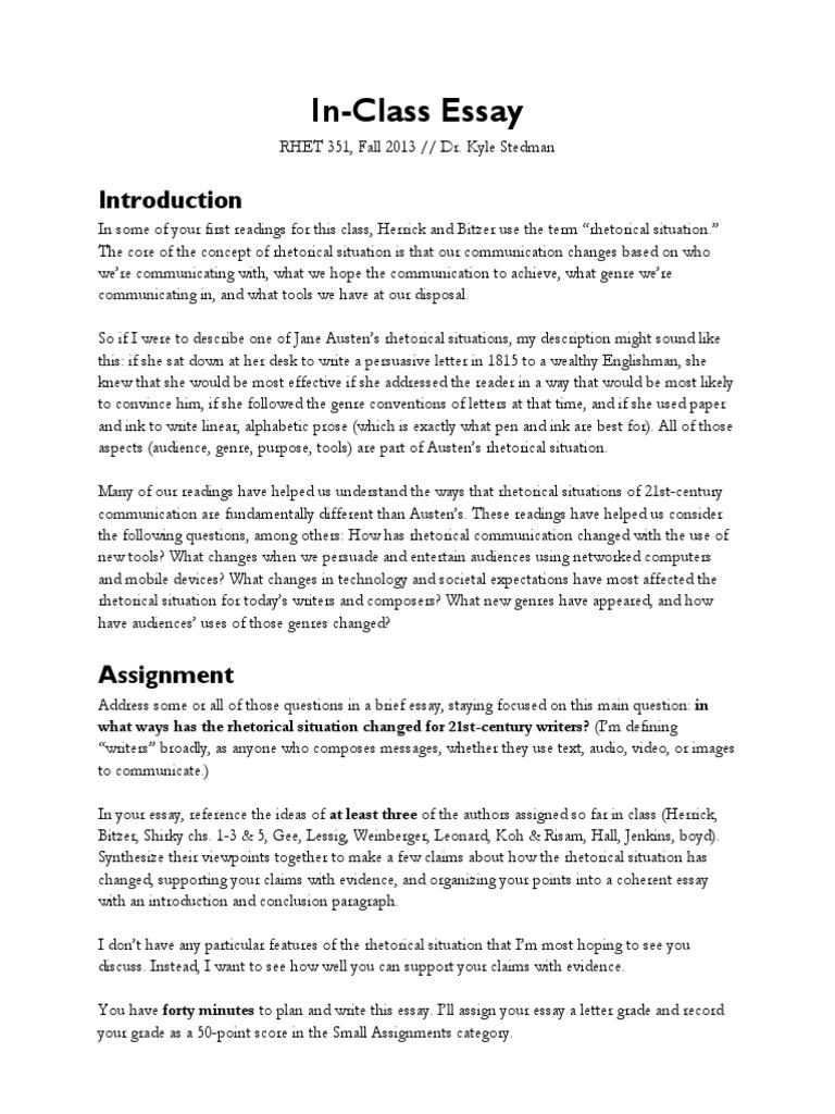 21st century essay