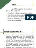 managerial economics tutorial
