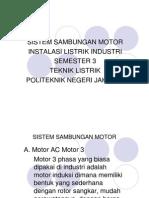 Sistem Sambungan Motor
