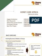 Honey Care Africa - Business Model Management Strategic