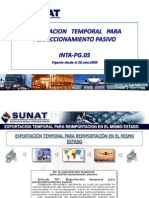 SUNAT8-Exportacion Temporal Para Perfeccionamiento Pasivo