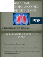 Sx. Paraneoplasico