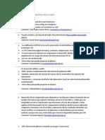 Lista de Proyectos 12-13