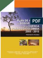 Plan de Accion de Biodiversidad Orinoquia