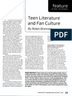 teen literature and fan culture