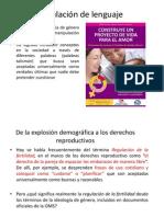 IDEOLOGÍA DE GÉNERO Y MANIPULACIÓN DE LENGUAJE