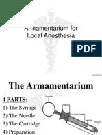 armamentarium for LA.pptx