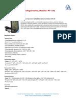 Termohigrometro MT 241