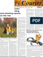 Country Courier - 11/08/2013 - page 01