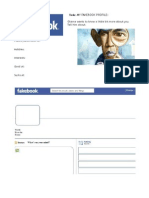 Fakebook Profile