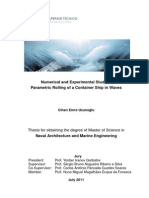 Numerical and Experimental Study of