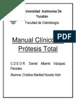 Manual clínico de prótesis total